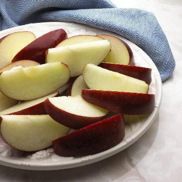 яблоко БЖУ на 100 грамм