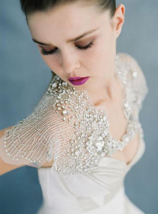 wedding dress with satin skirt