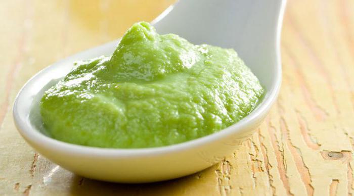 зеленая горчица