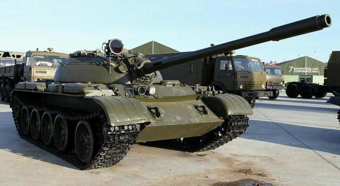 Operation tank T-55