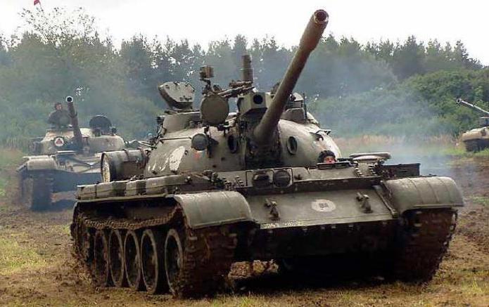 Tank T-55: modernization