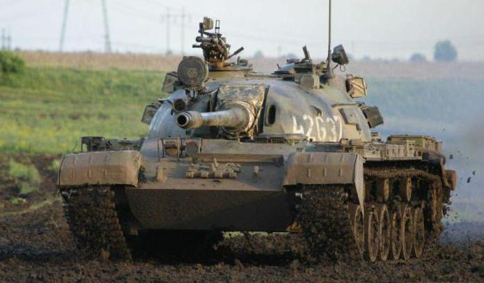 Tank T-55: modifications
