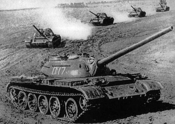 Tank T-55: photo