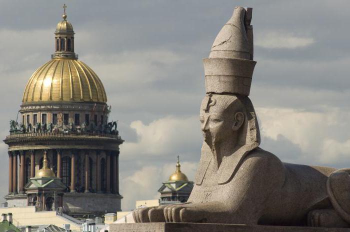Sphinx in St. Petersburg