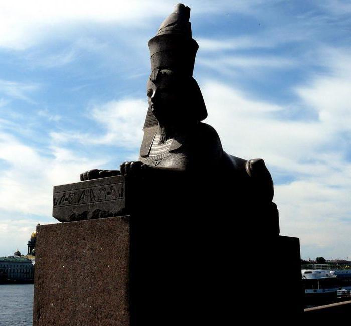 Twice born sphinxes in St. Petersburg