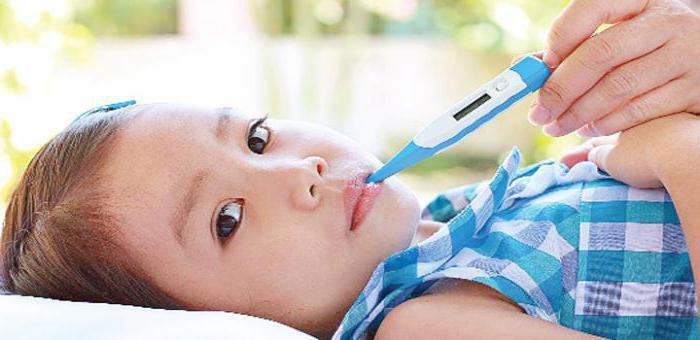 Фебрильные судороги у ребенка