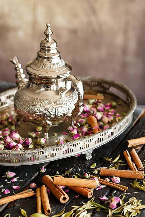 Moroccan tea recipe with cinnamon