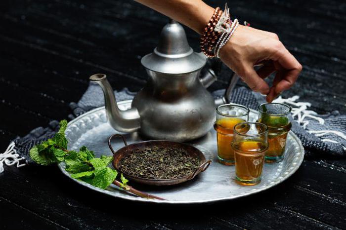 Moroccan tea recipe