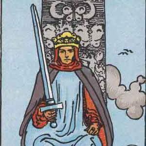 king of swords tarot meaning and interpretation