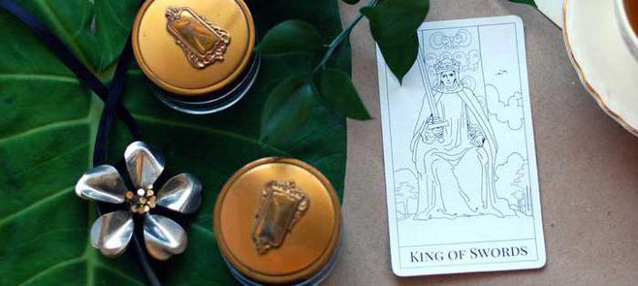 king of swords tarot value in health