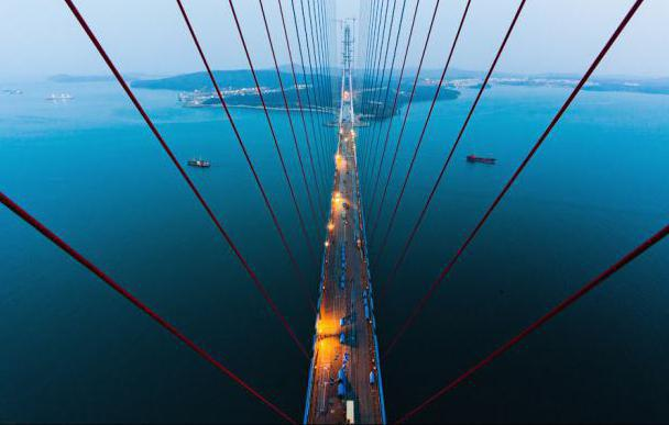bridge to island russian vladivostok