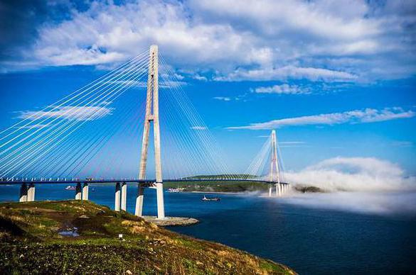 bridge to island russian photo