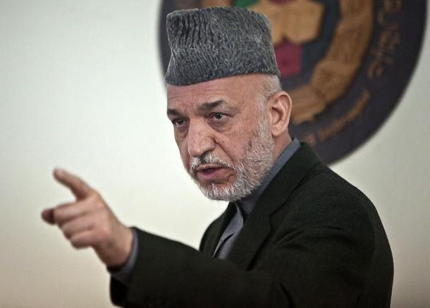 Hamid Karzai biography