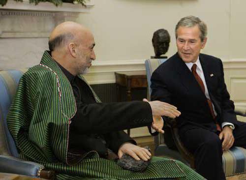 ex-Afghan President Hamid Karzai