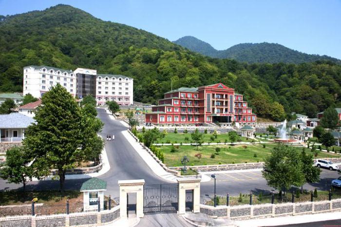 hotels gabala azerbaijan