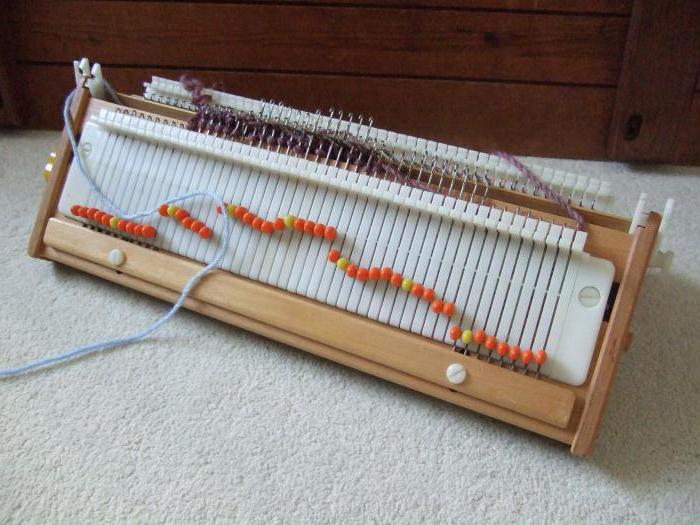 201Машинка для вязания домашних