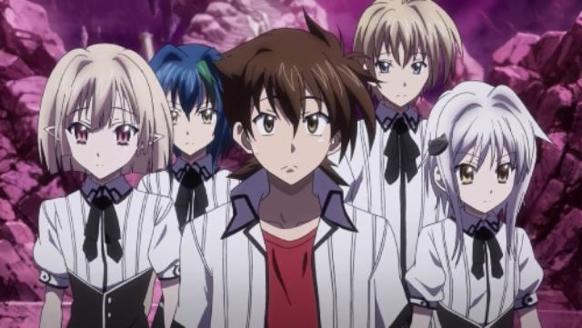 anime about angels and demons list [