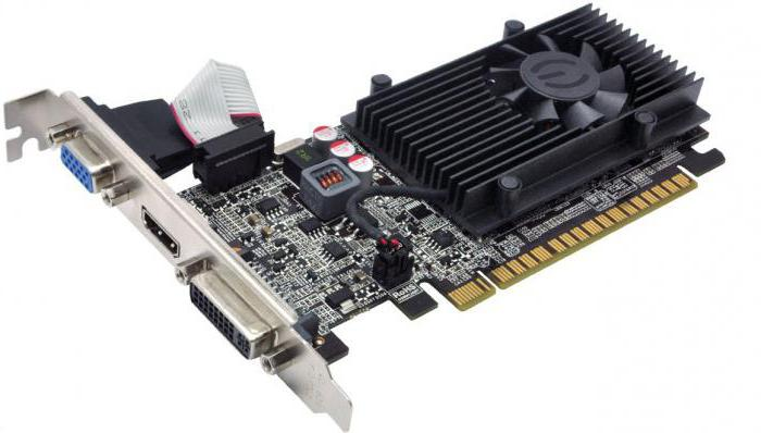 geforce gt 610 характеристики