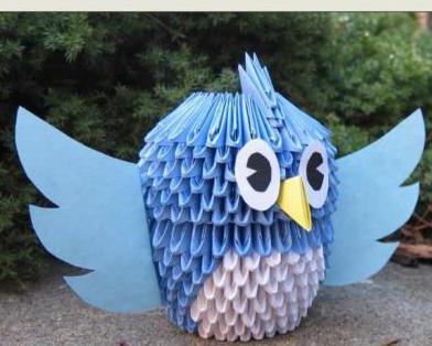 photo crafts birds.