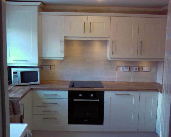 Расположение розеток на кухне: схема