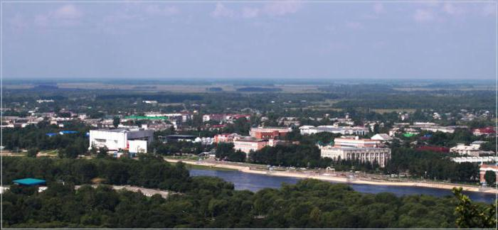 Where is the city of Birobidzhan on the map of Russia