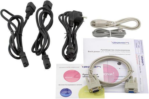 ippon back power pro 600 аккумулятор