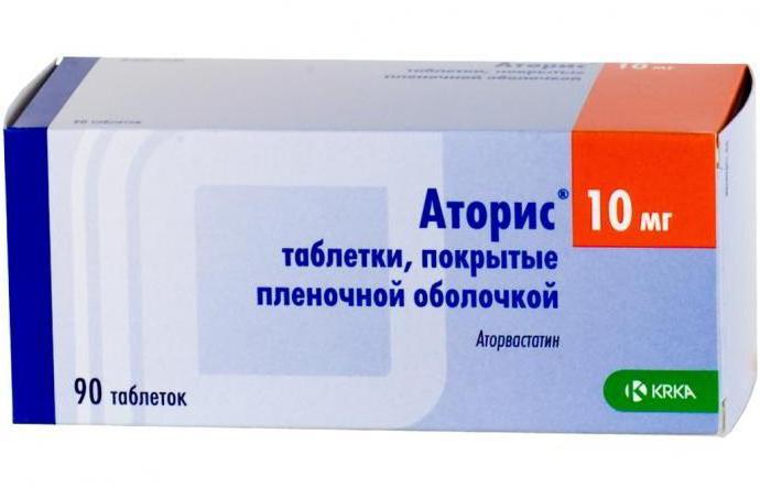 препарат аторис