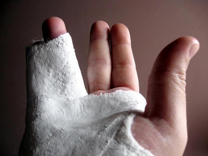 bandage gypsum density