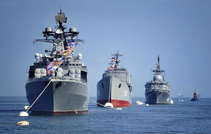 Ships of the Russian fleet