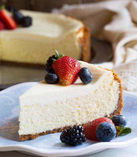 cheesecake with cottage cheese without baking
