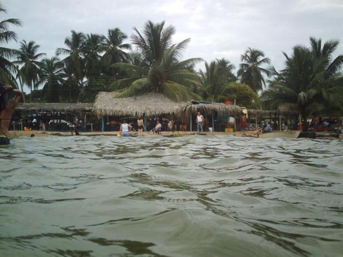 Geographical location of Lake Maracaibo