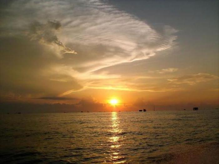 Южная Америка озеро Маракайбо