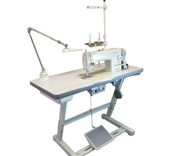 double needle industrial sewing machine