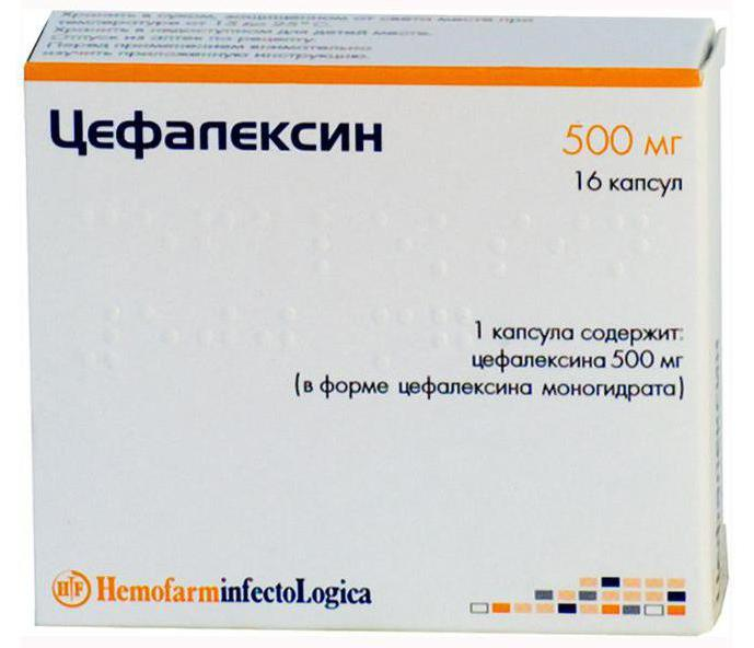 таблетки что такое цефалексин