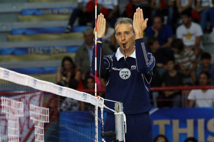 volleyball rules of the game and gestures of the judge