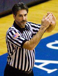 official volleyball referee gestures