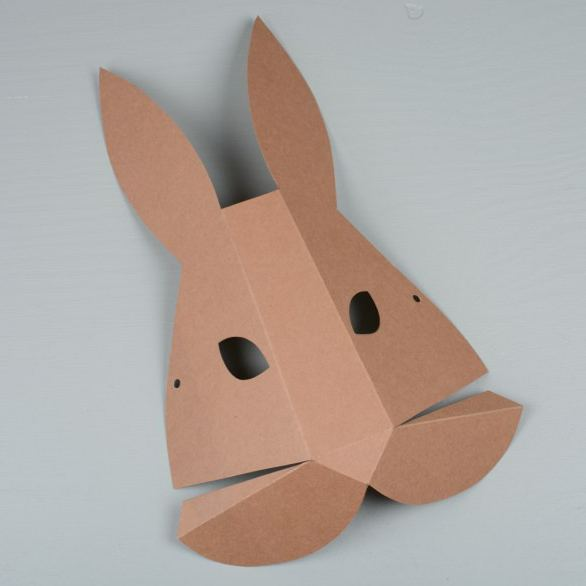 фото заяц из картона картинки можно