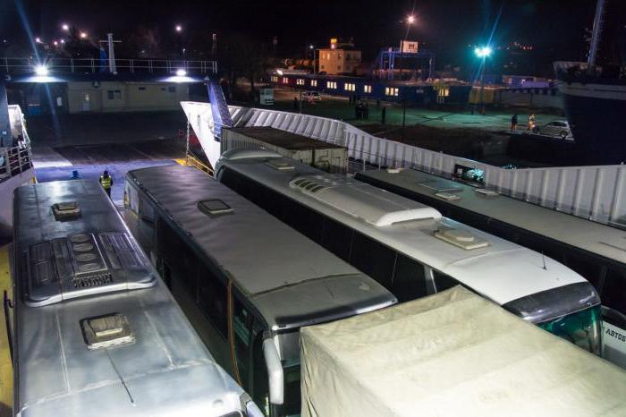 Ferry service mode