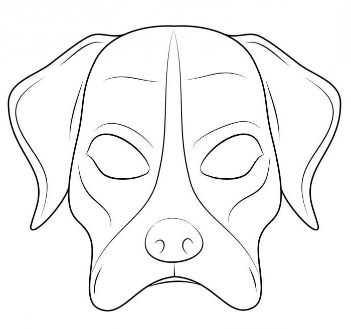 do it yourself dog mask
