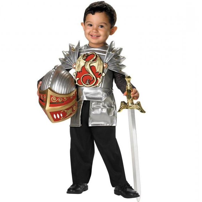 костюм рыцаря для мальчика своими руками