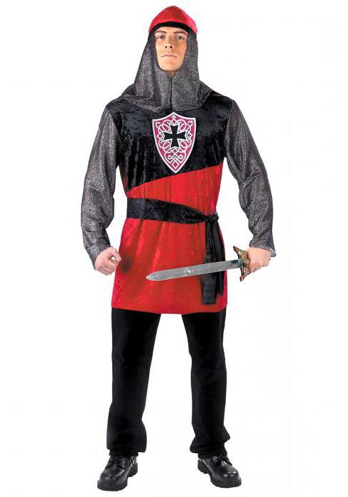 как сделать костюм рыцаря