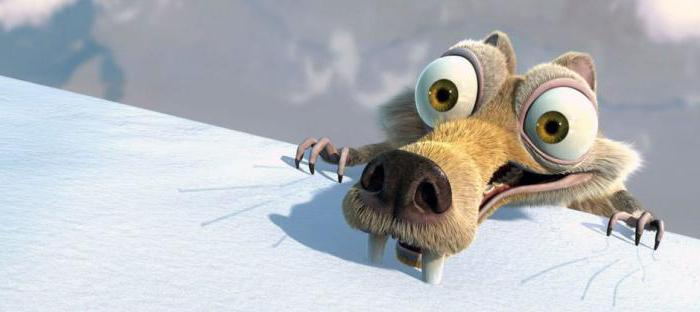 what is the name of the squirrel from the cartoon ice age