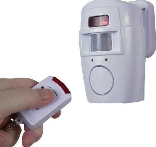 wireless motion sensor for alarm