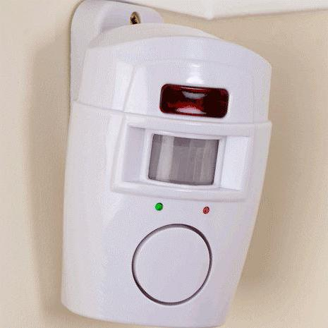 alarm system for home with motion sensor