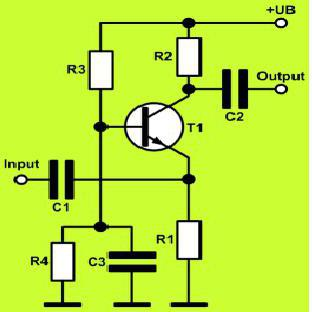 The inclusion of the transistor with ON