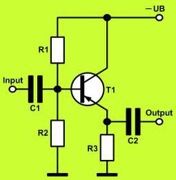 Turning on the transistor in the repeater emitter with OK