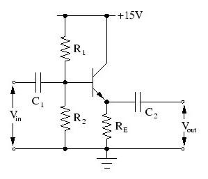 Emitter follower transistor