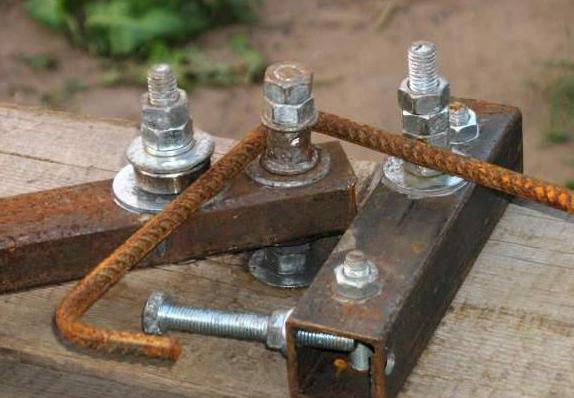 Трубогиб для арматуры ручной своими руками