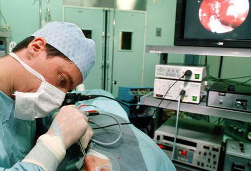 Обєм оперативного втручання визначається станом хворого, важкістю кровотечі, супровідніми захворюваннями