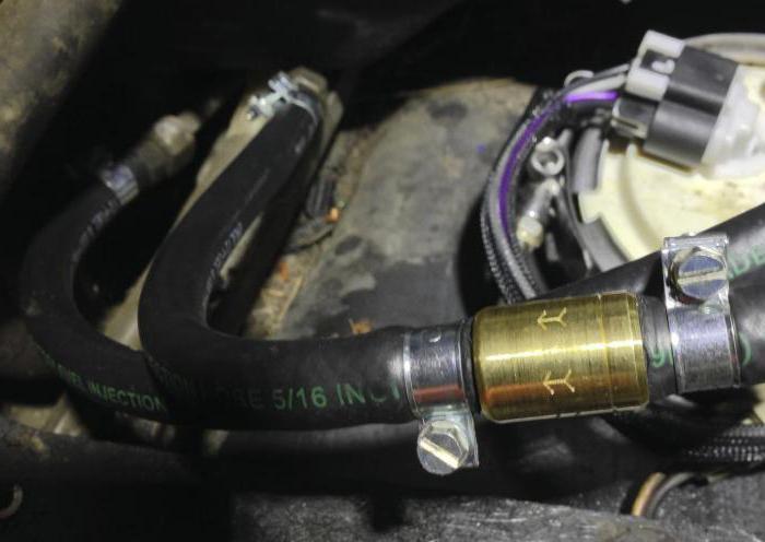 fuel check valve